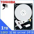 【HD數位3C】Toshiba 東芝 [監控碟] 1TB 3.5吋 硬碟 (DT01ABA100V)