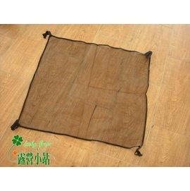 大林小草~【NG-980H-1】980H 鋁合金桌-桌下置物網,黏扣帶設計可自行調節