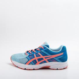 Asics  GEL-CONTEND 4 GS 兒童慢跑鞋-淺藍 C707N-1406 零碼出清