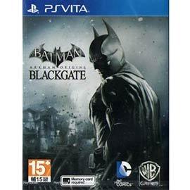 PSV 蝙蝠俠阿卡漢始源:黑門 -英文美版- Batman Origins BlackGate