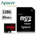 Apacer宇瞻 128GB MicroSDXC UHS-I Class10 記憶卡(85MB/ s)