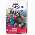 施德樓FIMO軟陶 SOFT MS8023 01 12色套組