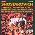 CHAN8650 (絕版)蕭士塔高維契:第五號交響曲, 芭蕾組曲「螺絲」 Shostakovich:Sym phony No.5 etc (Chandos)