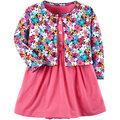 【愛寶貝】美國 Carter / Carter\'\'\'\'s 嬰幼兒春夏外套洋裝包屁衣組 美麗花朵(CTGSCD18-003)