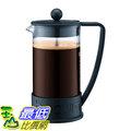 [107美國直購] 咖啡機 Bodum BRAZIL Coffee Maker, 34 Ounce (8 Cup) French Press Coffee Maker,  Black