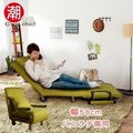 【C\'\'\'\'EST CHIC】HERB香草天籟單人沙發床-綠色