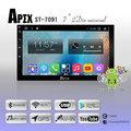 APEX 安卓7吋汽車音響主機 2-DIN USB/AUX/藍芽/ 支援倒車影像 搭配正版導航王系統
