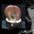 ★天然純品單片水晶瑪瑙聚寶盆+台灣30年種龍柏實木座∼小磁場必備品★
