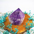 玻利維亞紫黃晶柱(AC180228-17) ~招偏財、正財、開智慧、增強運氣、改善人際關係