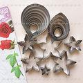 CS2303_001 不鏽鋼花葉模組23入、玫瑰模、玫瑰夜模、花萼模、桔梗花模、葉模