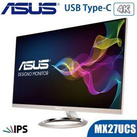 ASUS 華碩 MX27UCS 27型 4K IPS 專業螢幕 薄邊框 廣視角 內建喇叭 USB Type-C 三年保固