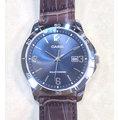 CASIO WATCH 卡西歐 SOLAR太陽能不鏽鋼寶藍面咖啡色皮帶腕錶 型號:MTP-VS02L-2A【神梭鐘錶】