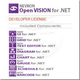 Nevron Open Vision for .NETDEVELOPER LICENSE 商業單機下載版-The complete .NET GUI Toolkit for Windows appl...