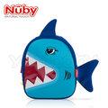 Nuby 3D立體防水背包 /防走失帶 -鯊魚