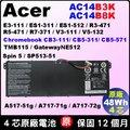 Acer 電池 原廠 宏碁 AC14B8K AC14B3K Swift3 SF314-51 R5-471T R5-571T R5-571TG P236 TMP236 P236-M TMP236-M TMP23...