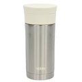 【公司貨/正品】THERMOS 膳魔師 率性雙層真空保溫杯 350ml (JMK-350-SWH不銹鋼色+白上蓋)