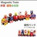 磁性火車組含6車6人偶