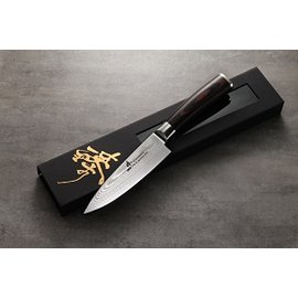 臻 ~ 大馬士革 積層鋼 ~~黑檀木柄 ~ 世界 主廚料理刀 150mm牛刀