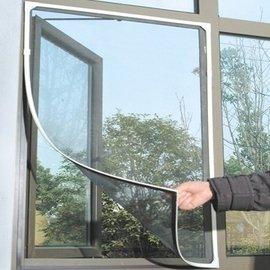 【防蚊紗窗DIY自粘型120*200公分 LA043】NO135非磁鐵型防蚊門簾