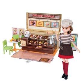 莉卡娃娃 Mister Donut 甜甜圈禮盒組 LA87725 TAKARATOMY 附莉卡店員*1