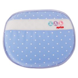 Aprica 可水洗透氣護頭枕~藍 BL19087