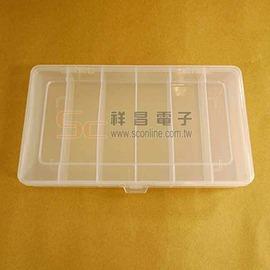 【祥昌電子】0406 小6格 零件盒 透明盒 透明PP 收納盒 首飾盒 工具盒 分格盒 分類盒