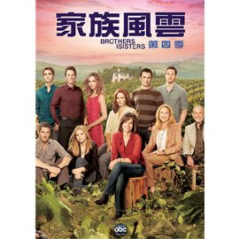 家族風雲 第四季 DVD Brothers And Sisters Season 4  6 disc