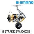 ◎百有釣具◎SHIMANO 18 STRADIC SW 紡車捲線器 規格:5000PG(03897 5) / 5000XG(03896 8) / 4000XG(03895 1)