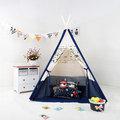 【索樂生活】印第安兒童帳篷玩具遊戲球屋-小飛機
