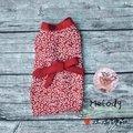 【Melody寵物用品】汪汪服飾。男孩款🐾唐草紅 浴衣和服 現貨