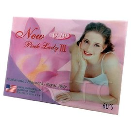 U-19 New Pink Lady III 粉紅佳人軟膠囊 60粒/盒