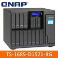 QNAP 威聯通 TS-1685-D1521-8G 16Bay網路儲存伺服器