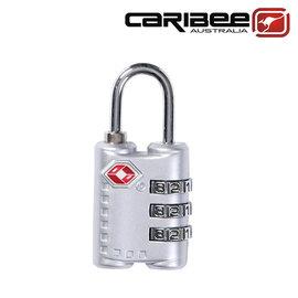 Caribee TSA 密碼鎖/ 安全鎖/ 行李鎖/ 海關鎖/ 出國旅遊 Citadel TSA Lock 銀色 CB-1375