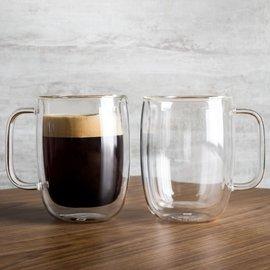[全館免運費-可刷卡分期]-德國雙人Zwilling 雙層 隔熱 咖啡杯 茶杯 兩件組 355ml*2 #39500-112 耶誕禮物 尾牙贈品