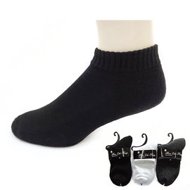 本之豐,  短襪/ 休閒襪/ 學生襪,  毛巾底素色經濟 款