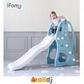 Malldj親子購物網 - 韓國 Ifam  小熊滑梯-藍色 #PB06008091524200
