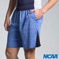 【NCAA原價$1180】極速吸濕排汗運動訓練健身機能男五分短褲-藍 C714512-550