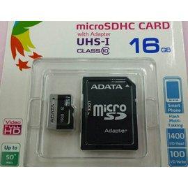 記憶卡 威剛 16G ADATA microSDHC 16GB Premier UHS~1