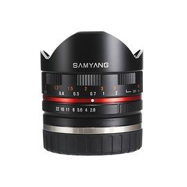 Samyang 8mm F2.8 II Fisheye lens Fuji mount (B)(保固三個月)