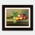*阿竹*生活藝術館 花卉水果靜物油畫【水果靜物圖】。100%純手繪(54 X 44 公分)[A069]