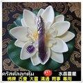 泰菲兒❤紫水晶靈擺🇹🇭送水晶套裝,佛牌/占卜/問事