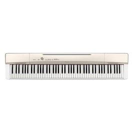 亞洲樂器 CASIO PX-160 數位鋼琴、卡西歐、電鋼琴、白色、攜帶方便,可自由選各式各樣的表演方式,並使用象牙質感琴...
