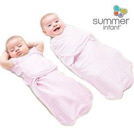 美國【Summer Infant】2合1聰明懶人育兒睡袋-粉紅愛心(加大)