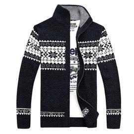 戰地吉普毛衣AFS JEEP針織衫男士加厚長袖開衫jacket外套寬松大碼