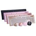金帆科技i.shock 06-KB99 精靈快手無線鍵盤滑鼠組 黑/粉/金/玫瑰金 鍵鼠組