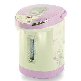 盛裕電器上豪不鏽鋼(內膽304) 2.5L熱水瓶PT-2502 /PT2502(電動+碰杯)式熱水瓶 ~~~