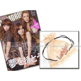 雜誌附錄 GLAMOROUS五週年! 蕾絲內衣 睡衣緞帶束口收納袋 貼身衣物袋 (XNN1