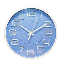 NaKay 簡約立體數字掛鐘 20cm小掛鐘 掛鐘 時鐘 小時鐘 桌掛兩用 超靜音時鐘 NCL~42
