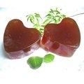 【桂瑄肥皂】人嵾好氣色--天然有機人嵾手工肥皂(塊)心型(F009)
