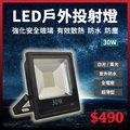 LED 戶外投射燈 30W 探照燈 地燈 防水燈 [天掌五金]